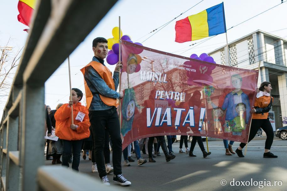 Marșul pentru viață, Iași, 2019 / foto: Oana Nechifor
