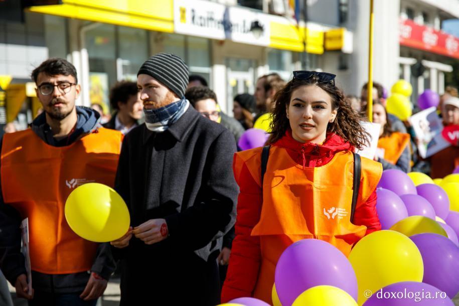 Marșul pentru viață, Iași, 2019 / foto: Silviu Cluci